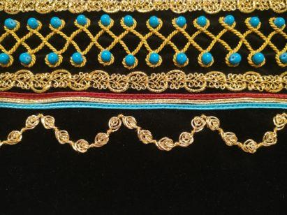 Plecak ze wstawką z czarnego aksamitu