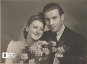 Drużbowie na ślubie Kowalskich : Zofia Łomzik i Mieczysław Sułkowski