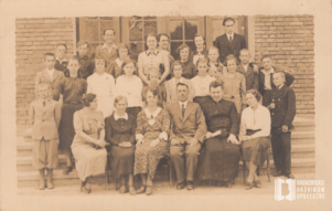 Zakończenie roku szkolnego w Szkole Powszechnej w Bronowicach Małych
