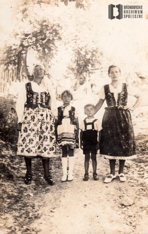 Katarzyna Marchowska (z d. Młodzianowska), Józefa Marchowska, Stanisław Młodzianowski, Józefa Młodzianowska