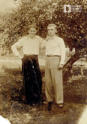 Marian Młodzianowski z Franciszkiem Musiałem