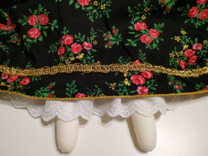 Spódnica dla lalki