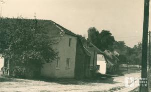 Dom Knapów przy ul. Tetmajera. Za nim domy Klimów, Bryłów, Kosoniów i Czepców